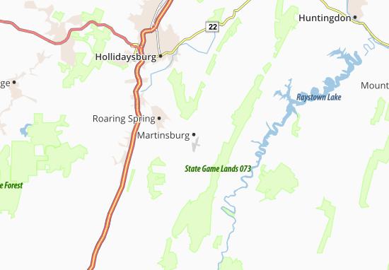 Martinsburg Map