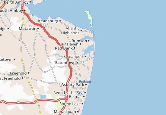Oceanport Map