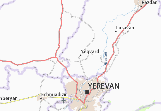 Mapa Plano Yegvard