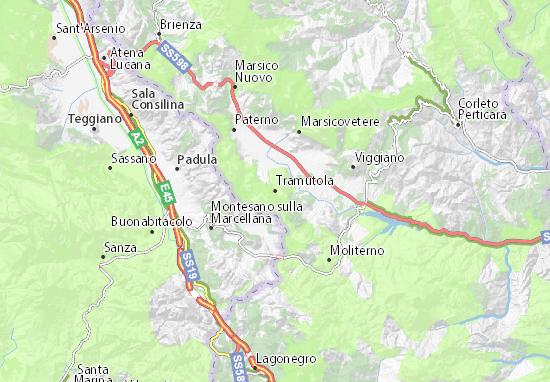 Mappe-Piantine Tramutola