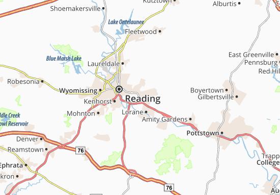 Mapa Plano Reiffton