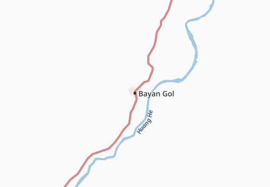 Bayan Gol Map