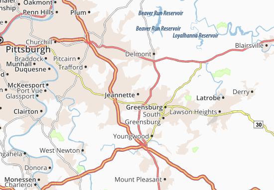 Jeannette Map