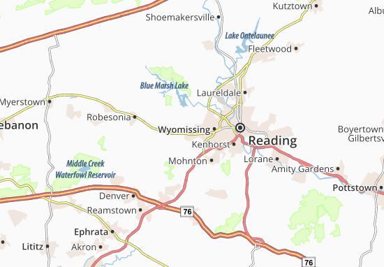 Mapa Plano Sinking Spring