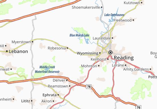 Carte-Plan Wernersville