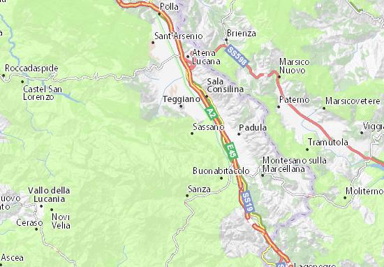 Mappe-Piantine Sassano