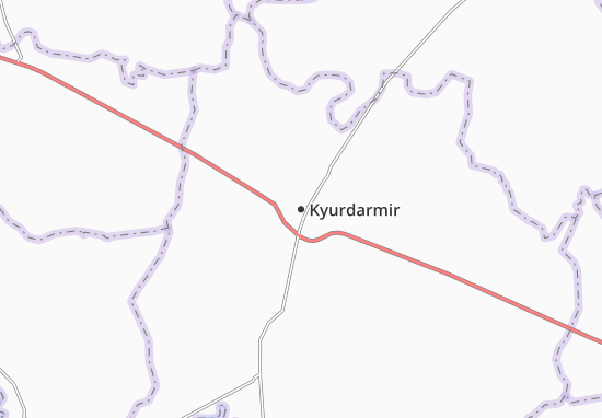 Kyurdarmir Map