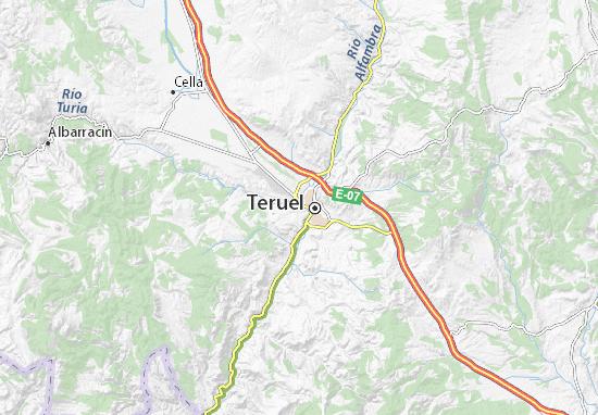 Mapas-Planos Teruel