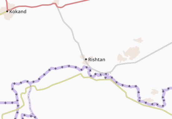 Mapa Plano Rishtan