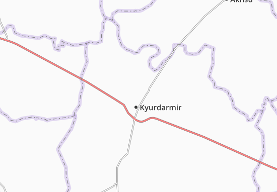 Khyrdaray Map