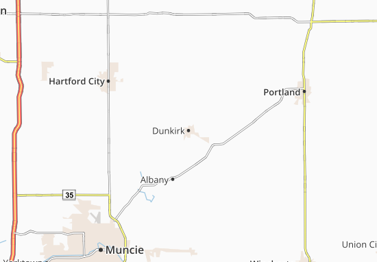 Carte-Plan Dunkirk