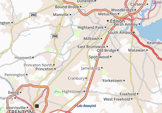 South Brunswick Terrace Map