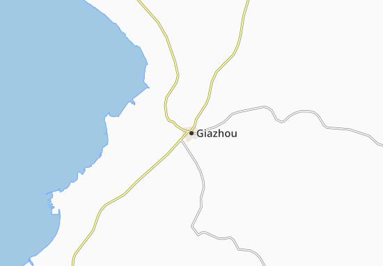 Carte-Plan Giazhou