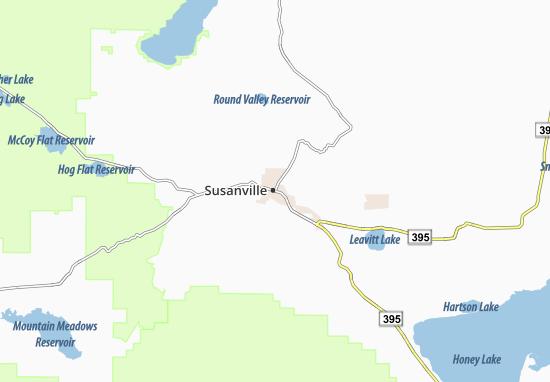 Susanville Map