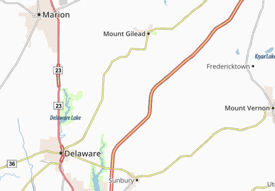 South Woodbury Map