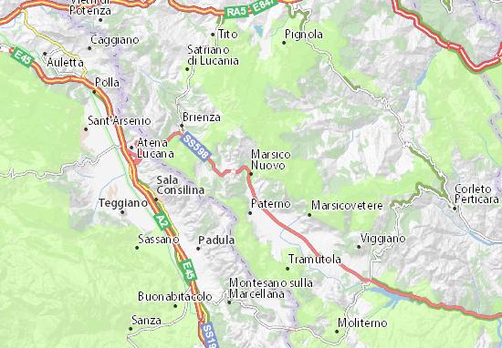 Mappe-Piantine Marsico Nuovo
