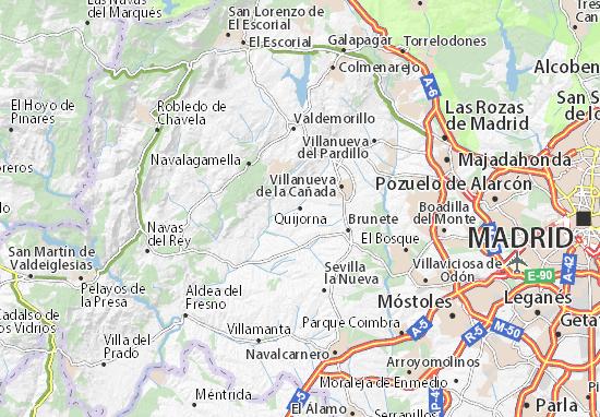 Mappe-Piantine Quijorna