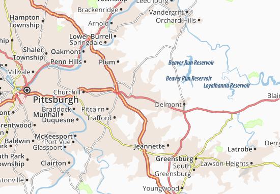 Murrysville Map