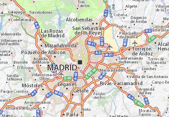 Salamanca Cartina.Mappa Salamanca Cartina Salamanca Viamichelin