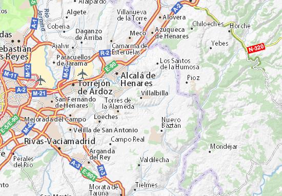 Mapas-Planos Villalbilla