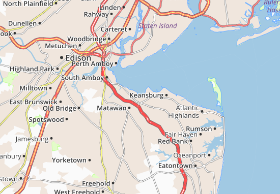 Keyport Map