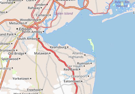 Keansburg Map