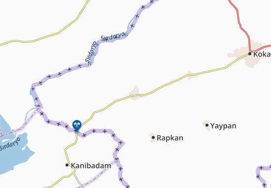 Besharuk Map