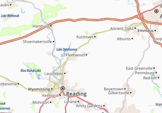 Carte-Plan Walnuttown