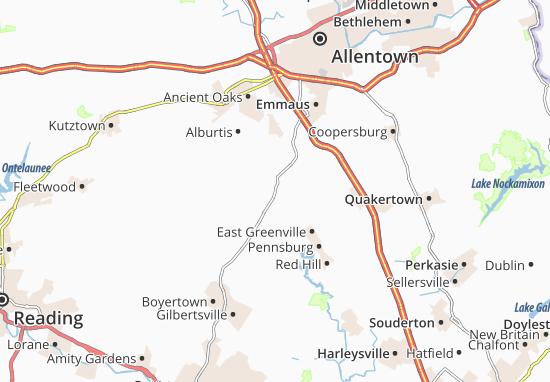 Carte-Plan Hereford