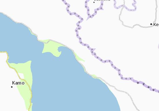 Mapa Plano Dzhil