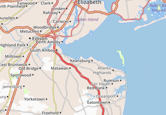 Union Beach Map