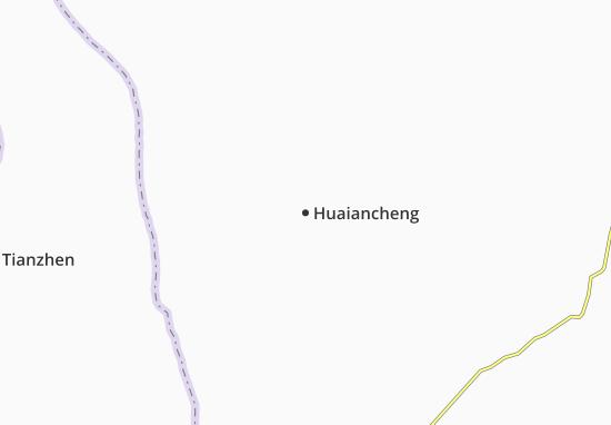 Huaiancheng Map