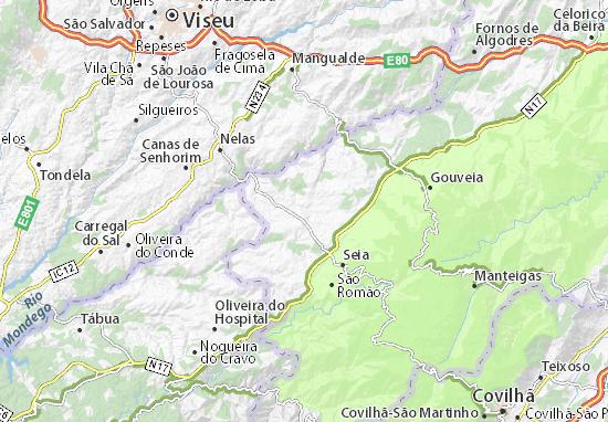 Mapa Plano Tourais