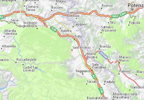 Mappe-Piantine Sant'Arsenio