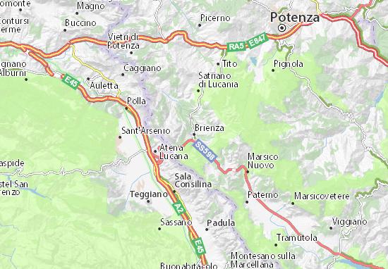 Mappe-Piantine Brienza