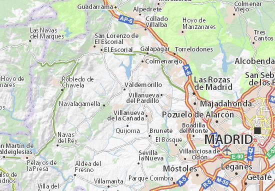 Karte Stadtplan Jarabeltran