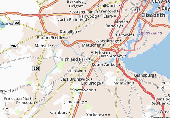 Mappe-Piantine New Brunswick