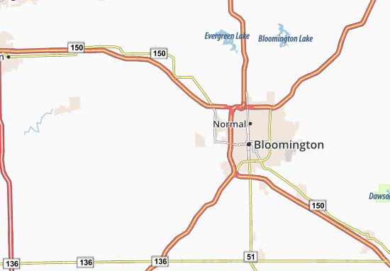 Twin Grove Map