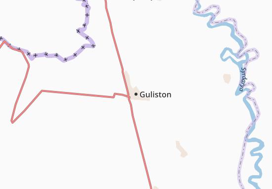 Mapa Plano Guliston
