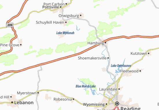 Shartlesville Map