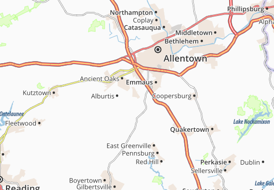 Macungie Map