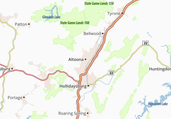 Carte-Plan Altoona
