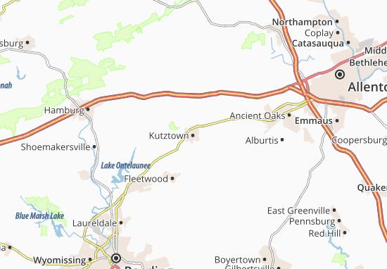 Kutztown Map