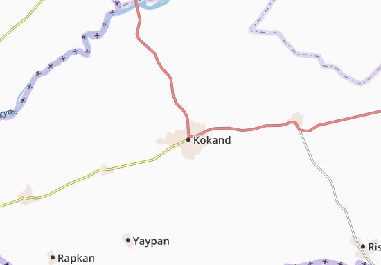 Mapa Plano Qoqon