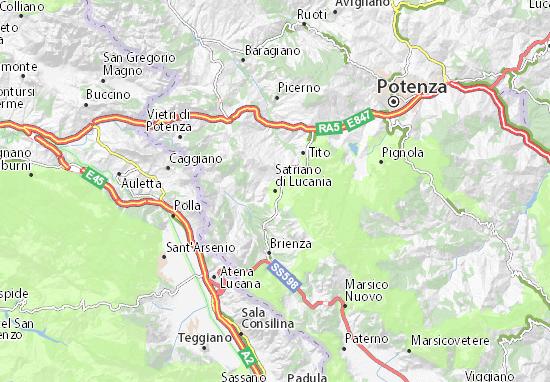 Mappe-Piantine Satriano di Lucania