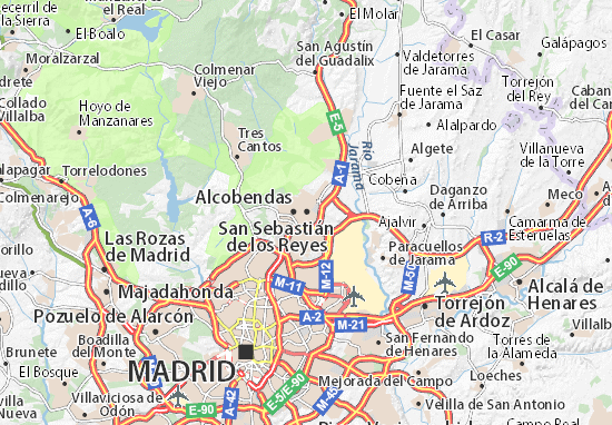 Mapas-Planos San Sebastián de los Reyes