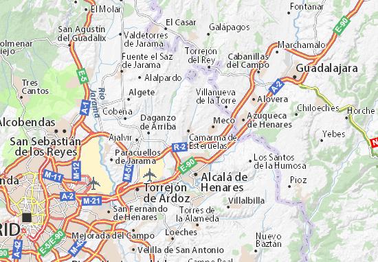 Mapas-Planos Camarma de Esteruelas