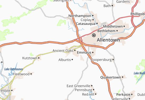 Trexlertown Map