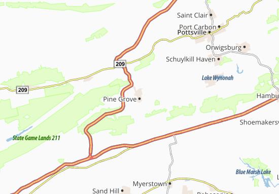 Pine Grove Map