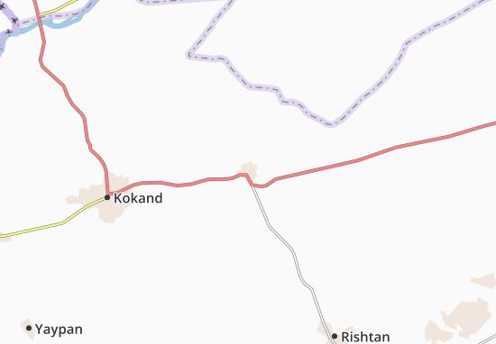 Mapa Plano Yangiqurghon
